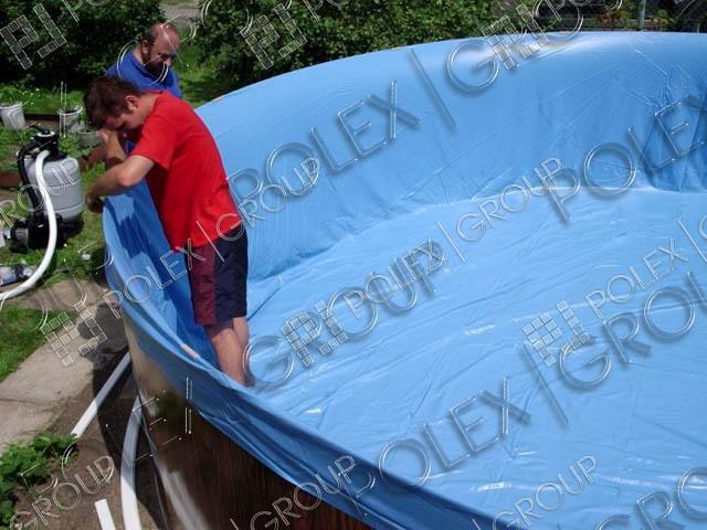 Как сделать каркасный бассейн своими руками из пленки