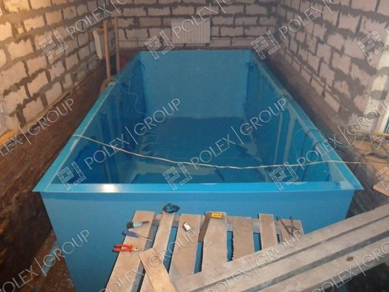 Построить бассейн баню своими руками