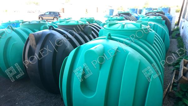 Септики накопительные для канализации Rodlex S